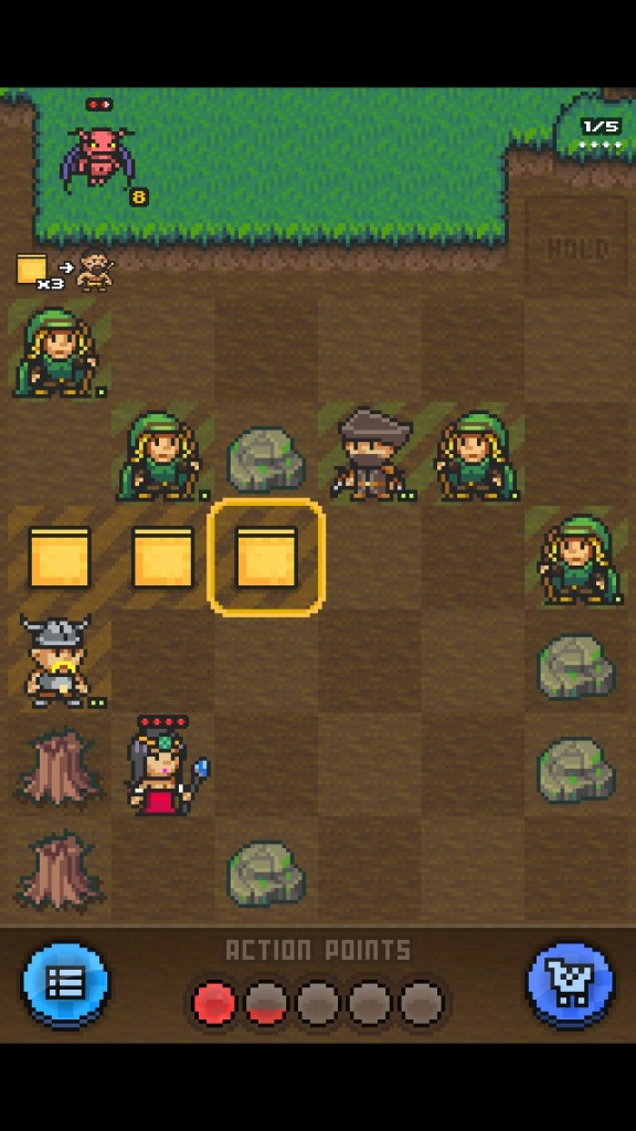 Get Your Match-Three On While Battling Monsters In Pixel Defenders Puzzle