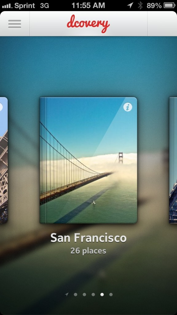 Turn Your iPhone Into Your Personal Travel Guide With Dcovery