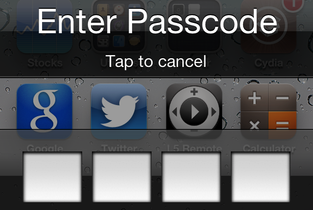 Give Your Icons Some Passcode Protection With This New Jailbreak Tweak
