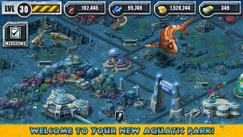 Jurassic Park Builder Opens Its Gates To Its New Aquatic Park Section