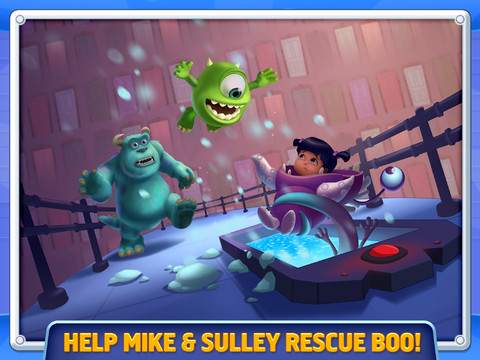 Boo! Will Monsters, Inc. Run Scare Off Other iOS Platformers?