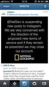 National Geographic Drops Instagram Amid Concerns About New Terms Of Service