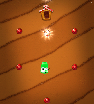 Can You Help Green Jelly Gobble Up All The Candies?