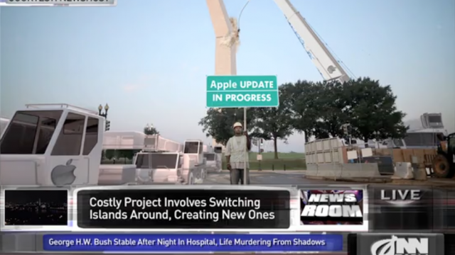 'America's Finest News Source' Says Apple Has A Plan For Fixing The Maps App