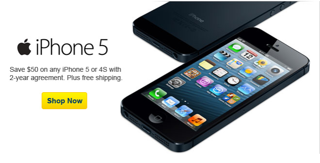 Best Buy Reduces iPhone 5 Price By $50, Handsets Start At $150