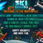 Get Spirited Away To The North Pole And Ride Santa's Sleigh In Ski Safari