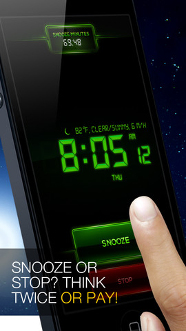 Snooze Minutes Alarm Clock Dares You To Pay The Price Of Snoozing