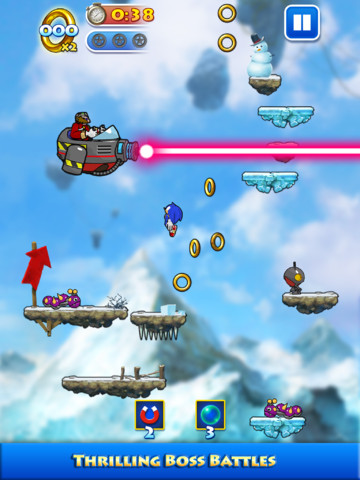 There's Double The Trouble And Twice The Fun In Sonic Jump's Second Update