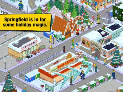 Ho Ho Ho D'oh! The Simpsons: Tapped Out Gets Decked Out For The Holidays