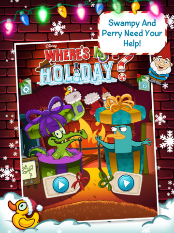 This Christmas, Swampy And Perry Are Together At Last In Where's My Holiday?