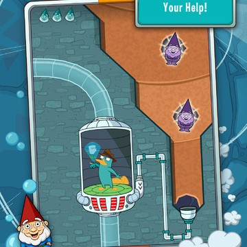 'Tis The Season For More Watery Levels In Where's My Perry?