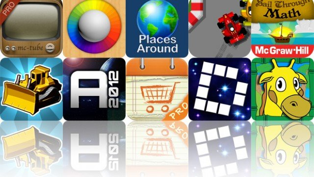 Today's Apps Gone Free: McTube Pro, Blendamaze, Places Around And More