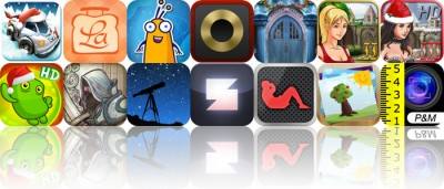 Today's Apps Gone Free: Mini Motor Racing, LaLa Lunchbox, Alien Buddies And More