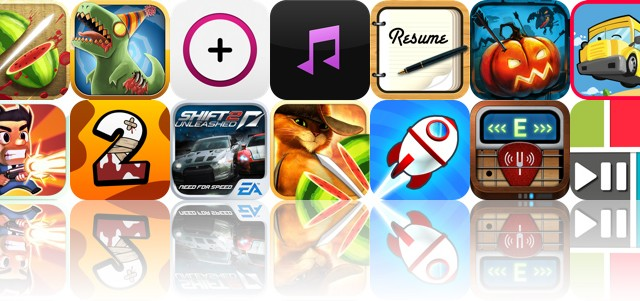 Today's Apps Gone Free: Fruit Ninja, Age Of Zombies, Kount.ly And More