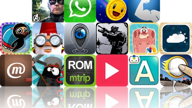 Today's Apps Gone Free: Avengers Initiative, WhatsApp Messenger, Coin Drop And More