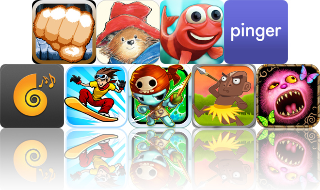 Today's Apps Gone Free: Punch Quest, Paddington Bear, Fin Friends And More