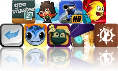 Today's Apps Gone Free: Geomaster, Siege Hero, Great Little War Game HD And More