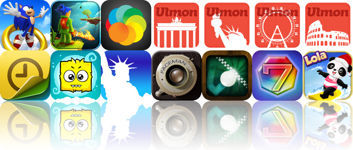 Today's Apps Gone Free: Sonic Jump, Swordigo, Ulmon New York And More