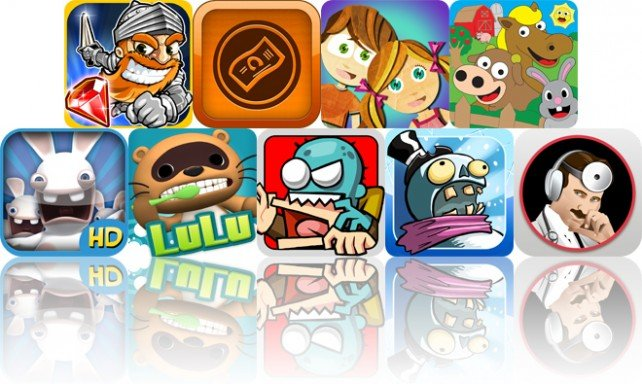 Today's Apps Gone Free: Super Knights, GlobeTipping, Beck And Bo And More