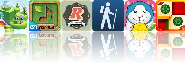 Today's Apps Gone Free: Wonderputt, Sound Massage, Retromatic And More