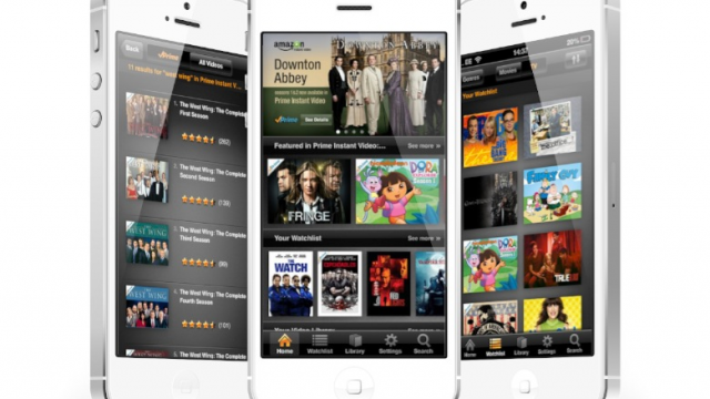 Amazon Instant Video Now Available On iPhone/iPod touch