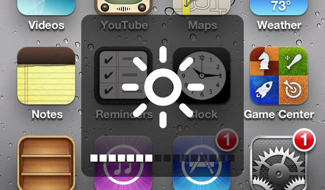 Quickly Adjust The Brightness On Your Device With This Jailbreak Tweak