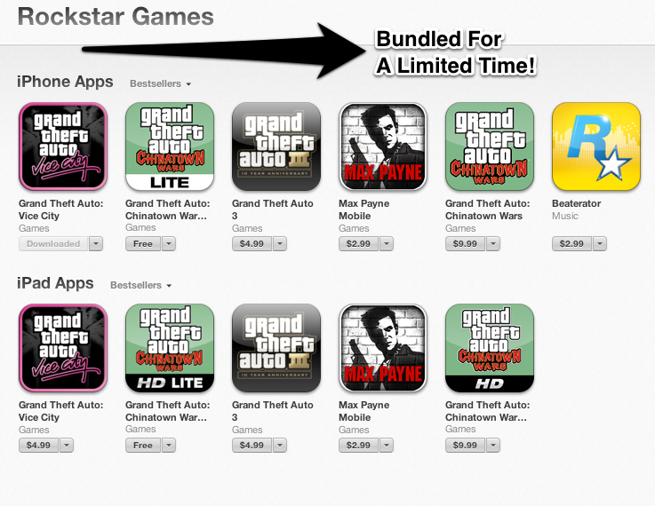 What A Concept! Bundling iOS Apps For One Low Price For A Limited Time