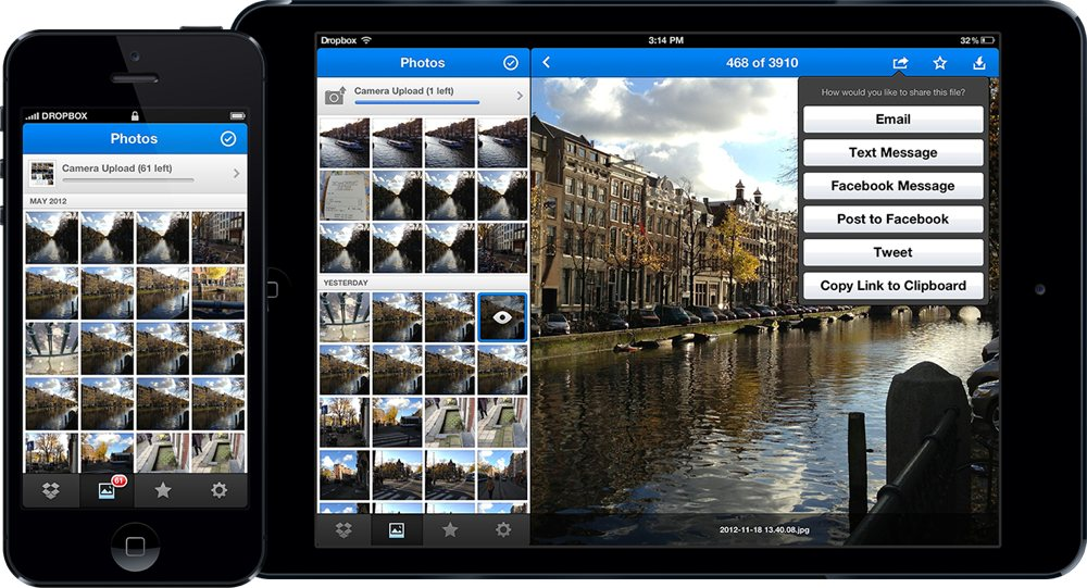 Dropbox Updates App With Redesign And New Photo Timeline