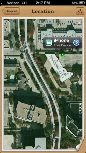 Updated Find My iPhone App Now Has Driving Directions To A Device's Location
