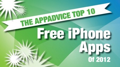 AppAdvice's Top 10 Best Free iPhone Apps Of 2012