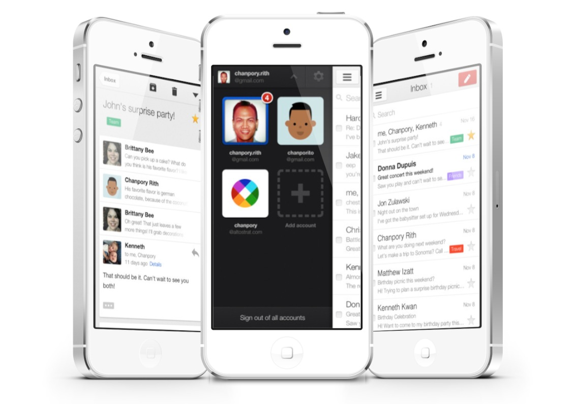 Updated: Gmail iOS App Update Includes Support For Multiple Accounts