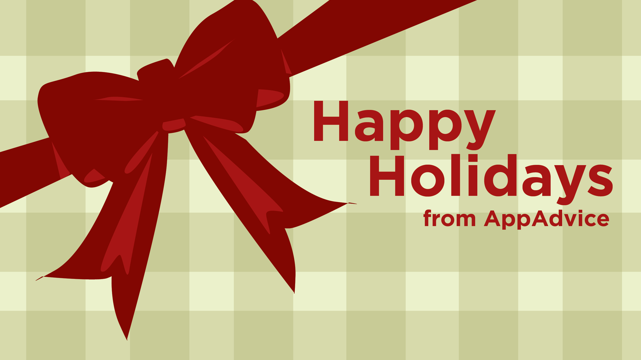 Happy Holidays And A Happy New Year From The AppAdvice Team