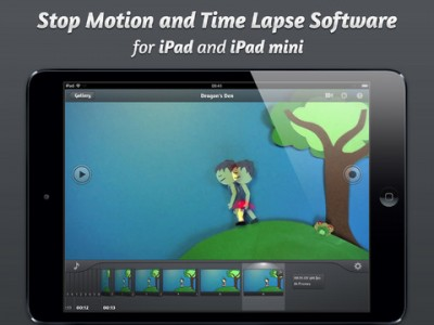 Popular iStopMotion For iPad App Receives A Sound-Worthy Update