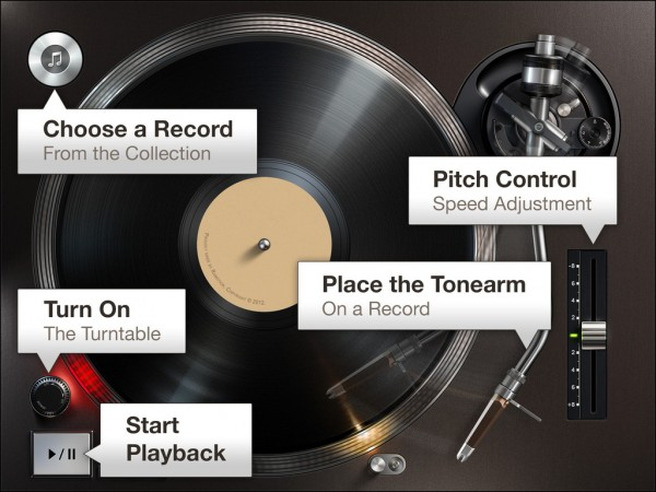 Turn Your Ipad Into A Beautiful Record Player With Turnplay