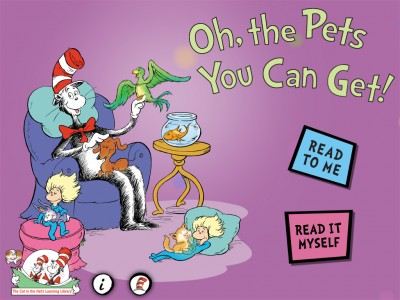 The Cat In The Hat Explains All Of The Pets You Can Get
