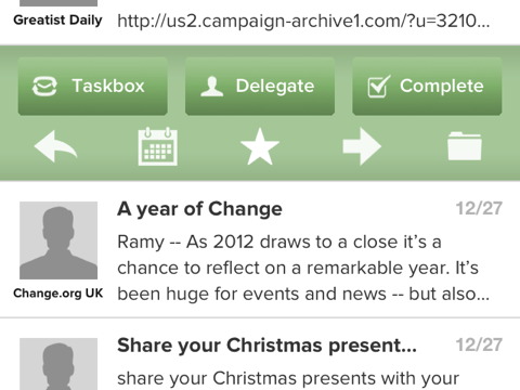 Organize Your Inbox This New Year With Taskbox