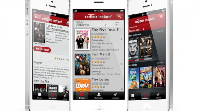 Redbox Verizon Movie Service Launches App As Service Remains In Closed Beta