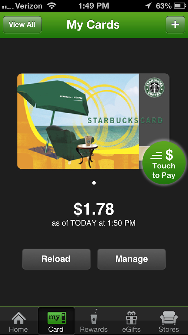 The Starbucks App Is Finally Optimized For The iPhone 5