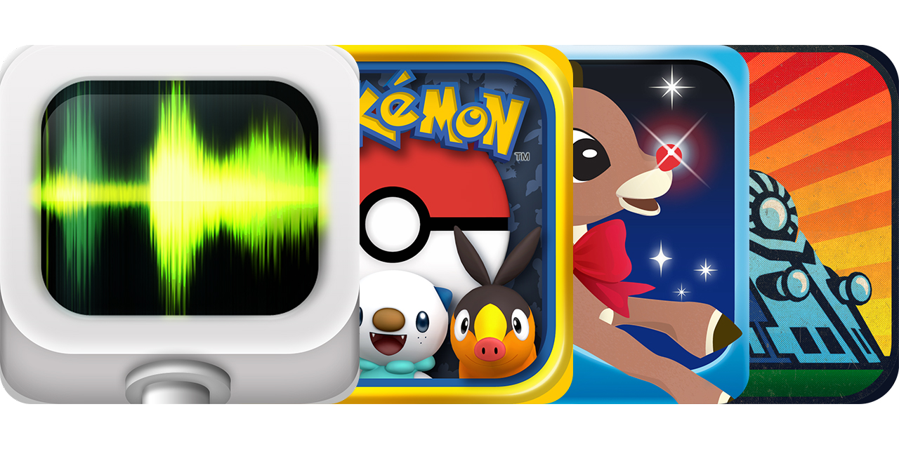 Today's Best Apps:  Audiobus, Pokédex, Rudolph's Gift And More