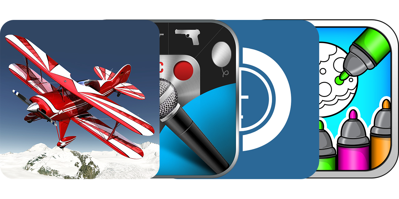 Today's Best Apps: Aerofly FS, The Cochrane Library, Voice Changing And Coloring Book For Xmas