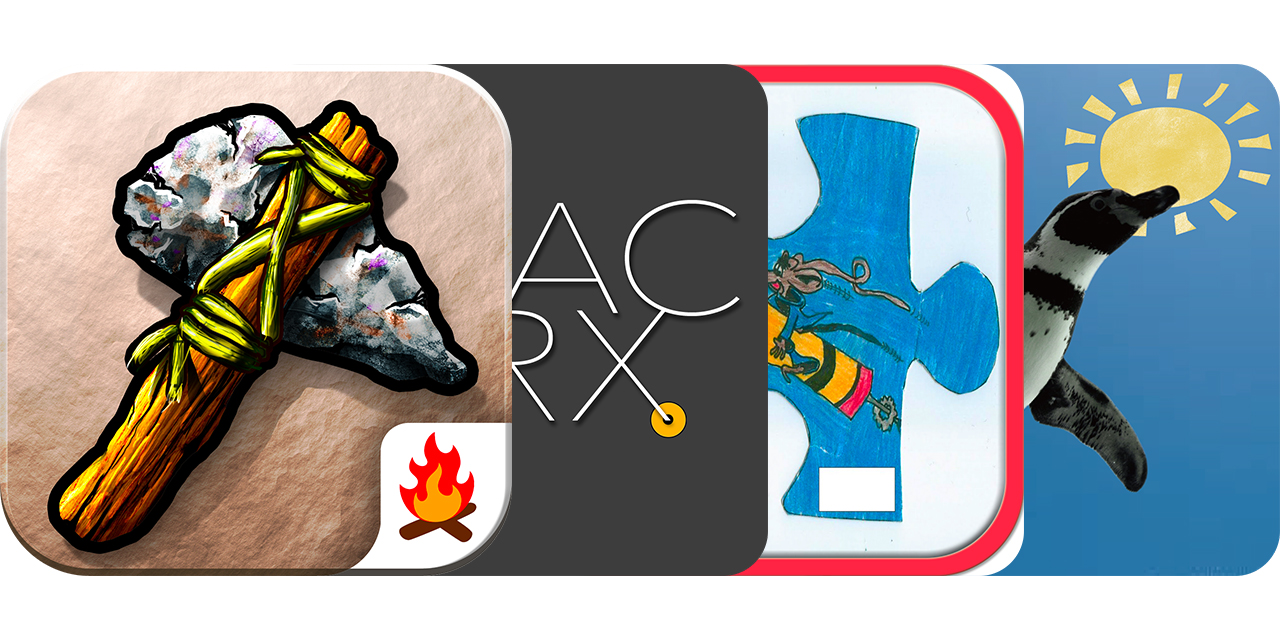 Today's Best Apps: Stone Age, TracerX, Drawings Puzzle And Penguin In The Sky