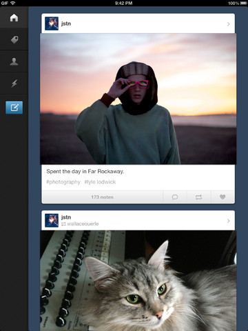 Tumblr Finally Available For The Big Screen