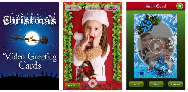 Send A Video Greeting Card Via Your iPhone Or iPad This Holiday Season