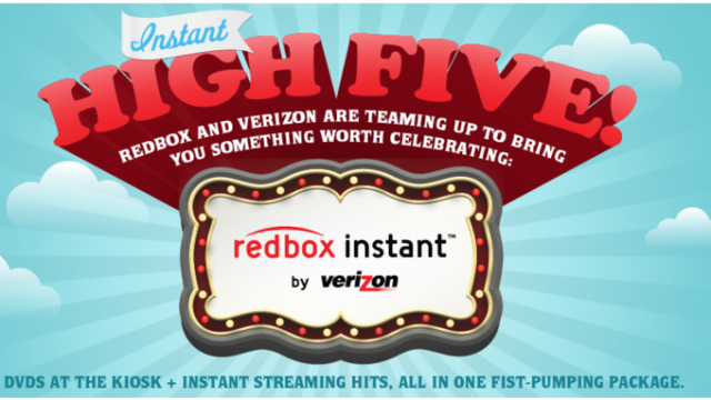 Redbox And Verizon Hope To Dent Netflix By Offering Their Own Streaming Video Service