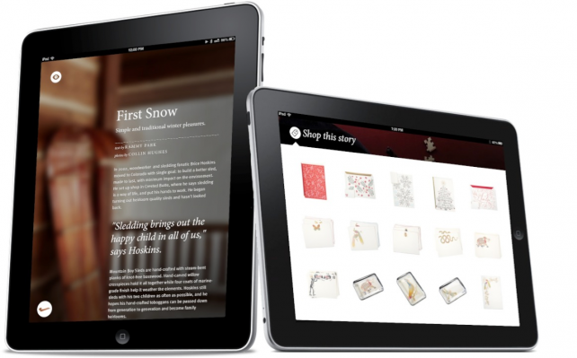 Wantful For iPad Uses Storytelling To Sell Unique Products