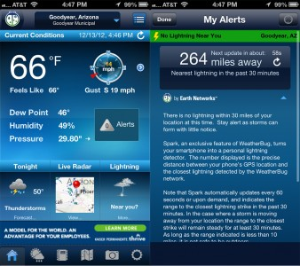 WeatherBug Experiences Another User Interface Revamp And Gains Spark