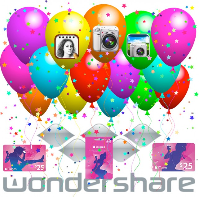 Celebrate The Year With Wondershare And Have A Chance To Win An iTunes Gift Card