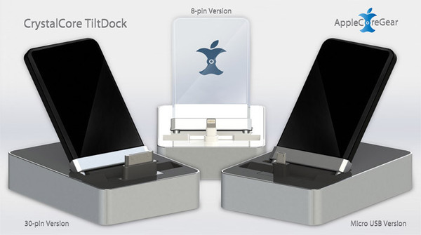 Introducing The CrystalCore TiltDock For Every Mobile Device In Your Life