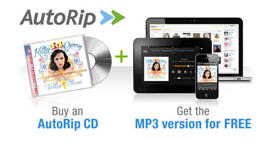 Amazon's AutoRip CD Service Could Be A Game Changer Apple Can Do Nothing About