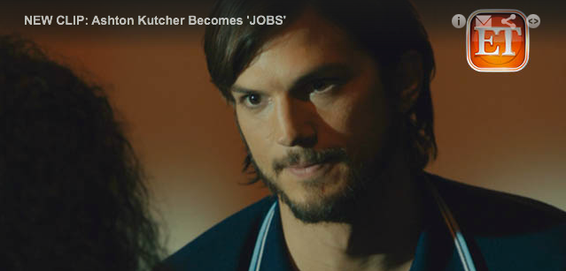 First Video Released Of Ashton Kutcher As Steve Jobs